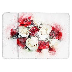 Flowers Roses Bouquet Art Nature Samsung Galaxy Tab 8 9  P7300 Flip Case by Nexatart