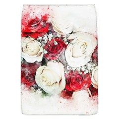 Flowers Roses Bouquet Art Nature Flap Covers (l)