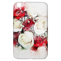 Flowers Roses Bouquet Art Nature Samsung Galaxy Tab 3 (8 ) T3100 Hardshell Case