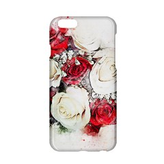 Flowers Roses Bouquet Art Nature Apple Iphone 6/6s Hardshell Case by Nexatart