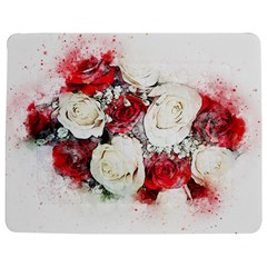 Flowers Roses Bouquet Art Nature Jigsaw Puzzle Photo Stand (rectangular)