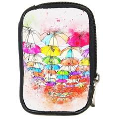 Umbrella Art Abstract Watercolor Compact Camera Cases