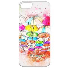 Umbrella Art Abstract Watercolor Apple Iphone 5 Classic Hardshell Case