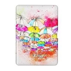 Umbrella Art Abstract Watercolor Samsung Galaxy Tab 2 (10 1 ) P5100 Hardshell Case