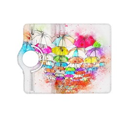 Umbrella Art Abstract Watercolor Kindle Fire Hd (2013) Flip 360 Case