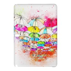 Umbrella Art Abstract Watercolor Samsung Galaxy Tab Pro 12 2 Hardshell Case