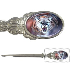 Cougar Animal Art Swirl Decorative Letter Openers