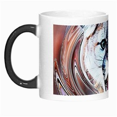 Cougar Animal Art Swirl Decorative Morph Mugs by Nexatart