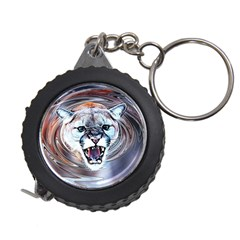 Cougar Animal Art Swirl Decorative Measuring Tape by Nexatart