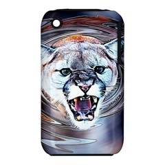Cougar Animal Art Swirl Decorative Iphone 3s/3gs