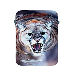 Cougar Animal Art Swirl Decorative Apple Ipad 2/3/4 Protective Soft Cases by Nexatart