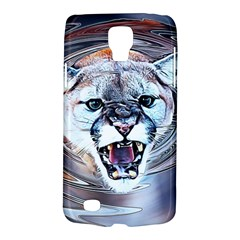 Cougar Animal Art Swirl Decorative Galaxy S4 Active