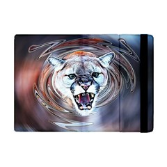 Cougar Animal Art Swirl Decorative Ipad Mini 2 Flip Cases by Nexatart