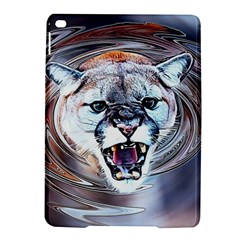 Cougar Animal Art Swirl Decorative Ipad Air 2 Hardshell Cases by Nexatart