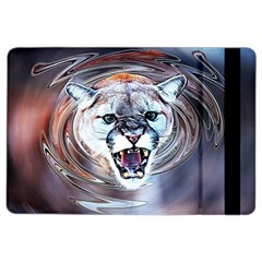 Cougar Animal Art Swirl Decorative Ipad Air 2 Flip by Nexatart
