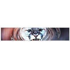 Cougar Animal Art Swirl Decorative Large Flano Scarf