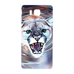 Cougar Animal Art Swirl Decorative Samsung Galaxy Alpha Hardshell Back Case