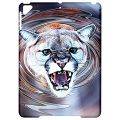 Cougar Animal Art Swirl Decorative Apple Ipad Pro 9 7   Hardshell Case by Nexatart