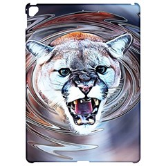 Cougar Animal Art Swirl Decorative Apple Ipad Pro 12 9   Hardshell Case by Nexatart