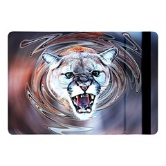 Cougar Animal Art Swirl Decorative Apple Ipad Pro 10 5   Flip Case by Nexatart