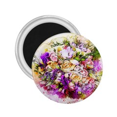 Flowers Bouquet Art Nature 2 25  Magnets