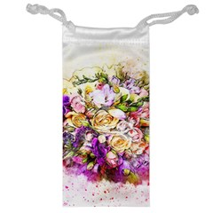 Flowers Bouquet Art Nature Jewelry Bag