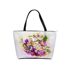 Flowers Bouquet Art Nature Shoulder Handbags