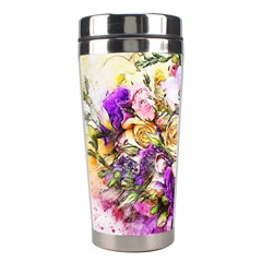 Flowers Bouquet Art Nature Stainless Steel Travel Tumblers