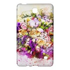 Flowers Bouquet Art Nature Samsung Galaxy Tab 4 (7 ) Hardshell Case  by Nexatart
