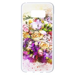 Flowers Bouquet Art Nature Samsung Galaxy S8 Plus White Seamless Case