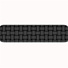 Background Weaving Black Metal Large Bar Mats
