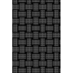 Background Weaving Black Metal 5 5  X 8 5  Notebooks