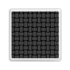 Background Weaving Black Metal Memory Card Reader (square)