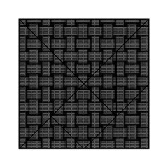Background Weaving Black Metal Acrylic Tangram Puzzle (6  X 6 )