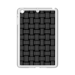 Background Weaving Black Metal Ipad Mini 2 Enamel Coated Cases