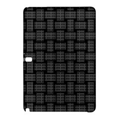 Background Weaving Black Metal Samsung Galaxy Tab Pro 10 1 Hardshell Case