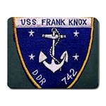 USS Frank Knox Emb Small Mousepad