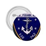 USS Frank Knox Emb 2.25  Button