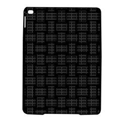 Background Weaving Black Metal Ipad Air 2 Hardshell Cases