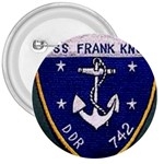 USS Frank Knox Emb 3  Button