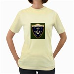 USS Frank Knox Emb Women s Yellow T-Shirt