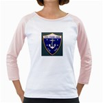 USS Frank Knox Emb Girly Raglan