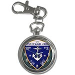USS Frank Knox Emb Key Chain Watch