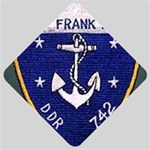 USS Frank Knox Emb Car Window Sign