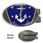 USS Frank Knox Emb Money Clip (Oval)