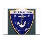 USS Frank Knox Emb Sticker A4 (10 pack)