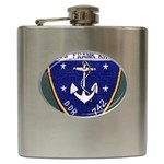 USS Frank Knox Emb Hip Flask (6 oz)