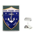 USS Frank Knox Emb Flip Top Lighter