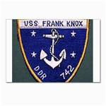 USS Frank Knox Emb Postcards 5  x 7  (Pkg of 10)