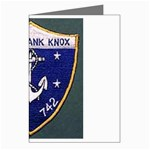 USS Frank Knox Emb Greeting Card